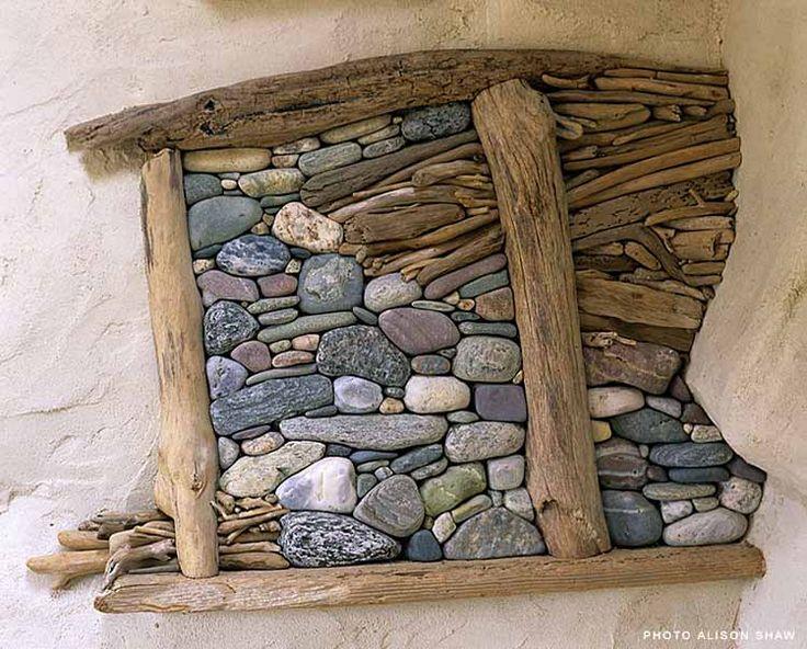 Поделки из дерева и камня