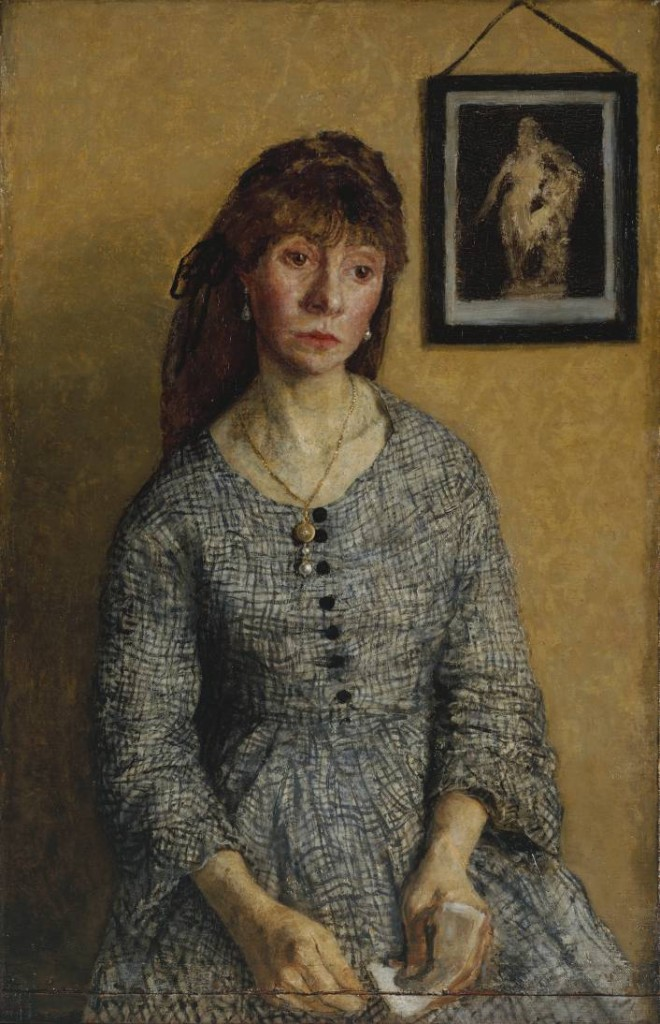 Chloë Boughton-Leigh 1904-8 by Gwen John 1876-1939